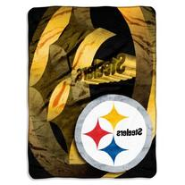 NFL Pittsburgh Steelers 60-Inch-by-80-Inch Micro Raschel