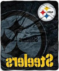 Northwest Pittsburgh Steelers 50x60 Roll Out Design Raschel