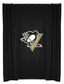PITTSBURGH PENGUINS Hockey NHL Gift Bathroom SHOWER CURTAIN