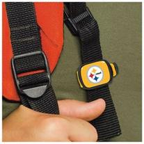 Pittsburgh Steelers Official NFL 1 inch x 1.25 inch Stwrap