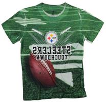 Pittsburg Steelers TOUCHDOWN NFL Youth T-Shirt