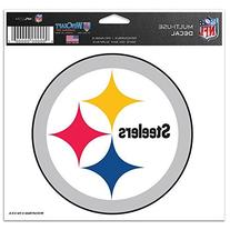 NFL Pittsburgh Steelers 41142071 Multi-Use Colored Decal, 5