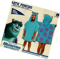 Disney Pixar Monsters University Sully Hooded Character Bath