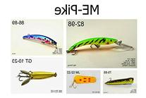 Akuna PK5A Pike and Northern Fishing Lure for USA 50 States