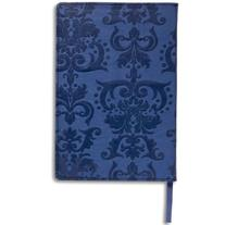 Plan Ahead Faux Leather Debussed Cover Journal, Assorted