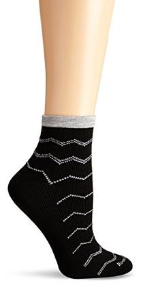 Sockwell Women's Plantar Ease Firm Compression Socks, Black