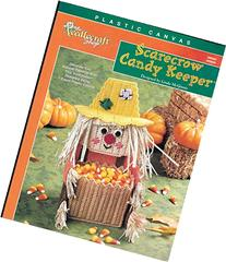 Plastic Canvas Scarecrow Candy Keeper by The Needlecraft
