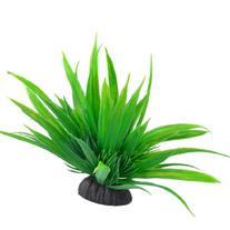 Jardin Plastic Decorative Long Leaves Plant with Ceramic