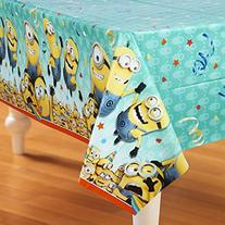 "Despicable Me Minions Plastic Tablecloth, 84"" x 54"