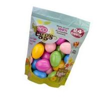 Plastic Easter Eggs - Eco Eggs Easter Eggs - 24 Count