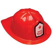 Rhode Island Novelty Plastic Firefighter Chief Hat