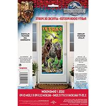"Plastic Jurassic World Door Poster, 60"" x 27"
