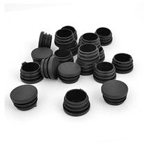 uxcell Plastic Round Blanking End Caps Tube Pipe External