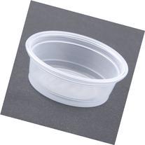 Plastic Souffle Portion Cups, 1/2 Oz., Translucent, 2500/