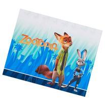 "Plastic Table Cover, 54"" x 96"", Zootopia"
