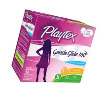 Playtex Gentle Glide 360 Degree Plastic Tampons Multi-Pack
