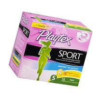 Playtex Plastic Tampons Sport Multi-Pack Regular/Super