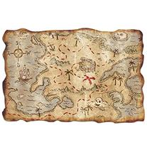 Plastic Treasure Map Party Accessory