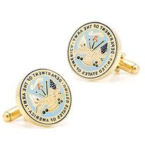 Mens Plated US Army Cufflinks PD-USAR-GL NEW