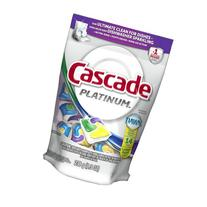Cascade Platinum Actionpacs Lemon Burst Scent Dishwasher