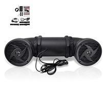 Pyle Tornado Bluetooth Waterproof ATV Speaker Sound System,
