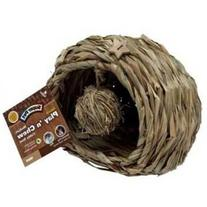 Natural Play N Chew Cubby Nest Cage Size: Medium