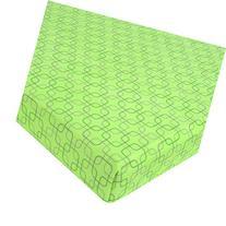 Just Born Playard Sheet - Dot Squares - Green
