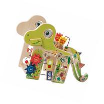 Playful Dino Wooden Activity Center