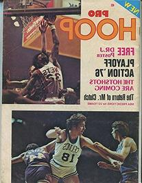 Playoff Action 1976 Unsigned Pro Hoop Magazine