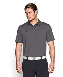 Under Armour Men's Playoff Polo, Graphite/Black, Large