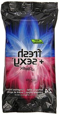 Playtex Fresh & Sexy Intimate Wipes - 24 Count Each - Pack