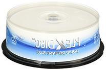 PlexDisc 6x 25GB Liquid Defense Plus Glossy White Inkjet