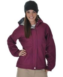 686 Plexus Quest Softshell Snowboard Jacket Orchid Womens Sz