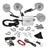 Pyle PLMCA90 1200 Watts Motorcycle/ATV Amplifier with Dual