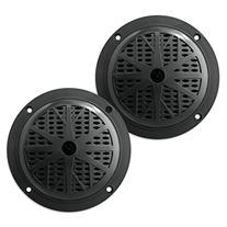 Pyle PLMR51B Dual 5.25'' Waterproof Marine Speakers, 2-Way