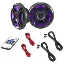 Pyle PLMRX68LEB Speaker - 250 W PMPO - 2-way - 2 Pack - 45
