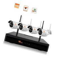 CORSEE Wireless Security Camera System with 4 x 720P