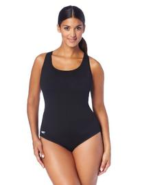 Speedo Women's Plus-Size Endurance+ Moderate Ultraback One