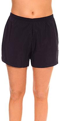 Aquabelle Women's Plus Size Chlorine Resistant Nylon Short