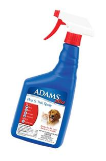Adams Plus Flea and Tick Spray for Cats and Dogs, 32 Oz