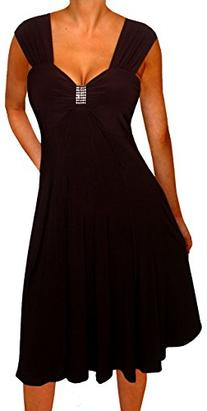 Funfash Plus Size Clothing for Women Empire Waist Slimming