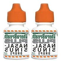 TheraBreath Plus Nasal Sinus Drops 2 Pack