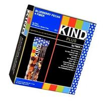 KIND Plus Nutrition Bars, Blueberry Pecan + Fiber 12 ea