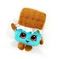 Plush - Shopkins - Cheeky Chocolate 6.5 Soft Doll Toys New