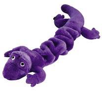 """Zanies Bungies Gecko Dog Toys, Purple, 16""""–24"""