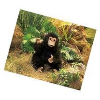 Plush Baby Chimpanzee Puppet 15