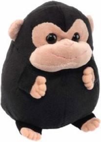 """Chubzies Black Monkey 7"""" by Wild Republic"""