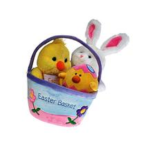 Plush Easter Basket For Baby - Toddler & Kids Of All Ages.