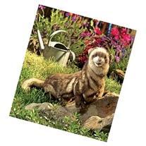 Plush Ferret Hand Puppet 25