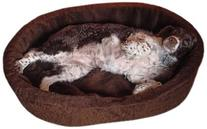 Dog Bed King USA Extra Large Plush Fur Dog Bed, 42-Inch by